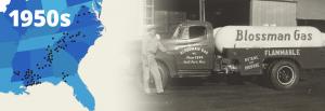 Blossman History 1950's