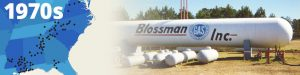 Blossman History 1970's
