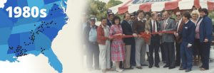 Blossman History 1980's