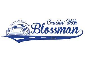 Cruisin' with Blossman Classic Car Event Logo