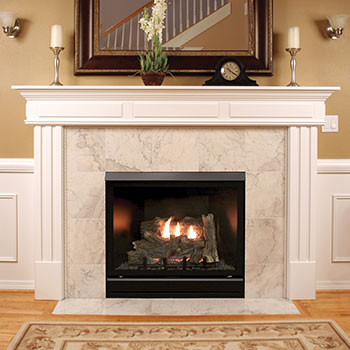 Empire Tahoe Clean Face Deluxe Direct Vent Fireplace