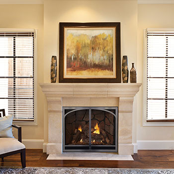 Empire Tahoe Clean Face Direct Vent Luxury Fireplace