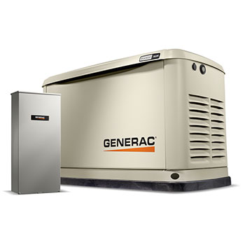Generac Generator 16kW with 200 Amp Transfer Switch