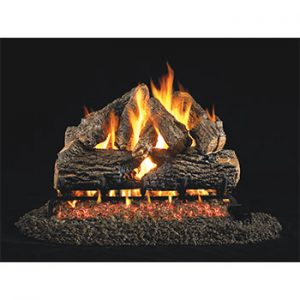 Peterson Real Fyre Charred Oak Vented Logs