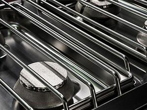 Propane Gas Grill Grate Close Up Relating to the Top Ten Tips for Grilling Safety