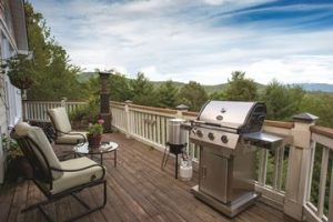 Propane Gas Grills and Outdoor Living Spaces