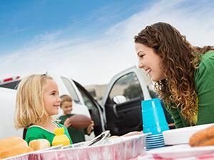 Family Tailgating for Football Game - Tips for Successful Tailgate Prep and Party