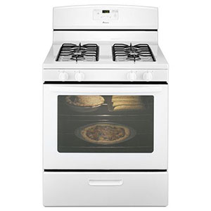 Amana Gas Range in White