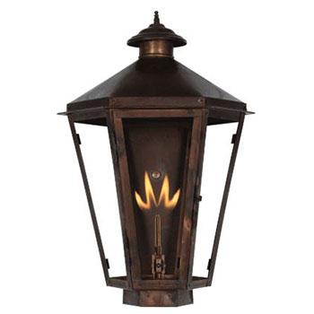 Solid Copper Outdoor Light Fixtures