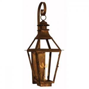 Chesapeake Gas Lantern St James Lighting Blossman