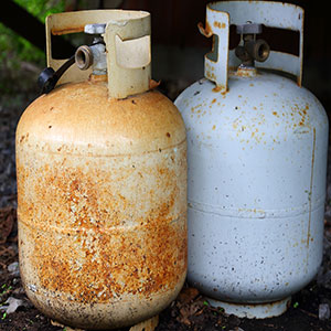 Expired Propane Tanks