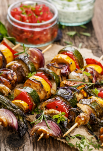 Grilled Jerk Chicken Kebabs Recipe
