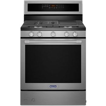 Maytag Gas Range Freestanding With Convection Oven