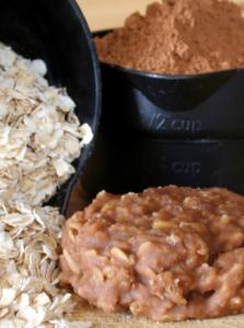 No-Bake Oatmeal Fudge Cookies Recipe