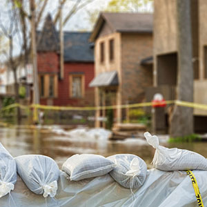Neighborhood Flooded - Propane Safety During Floods