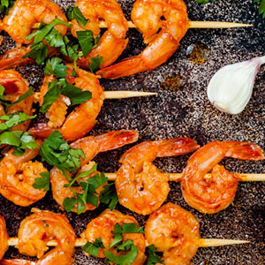 Grilled Shrimp on Skewers Marinade Recipe