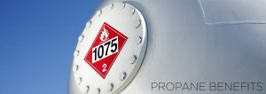 Image of Propane Tank for the Propane Benefits Header Image