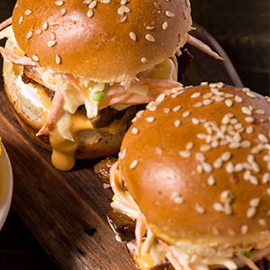 Cajun Slaw Sliders Recipe