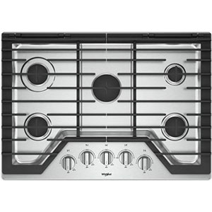 Whirlpool Gas Cooktop Cast Iron Grates