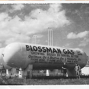 Historical Picture of Blossman Gas Bulk Tank