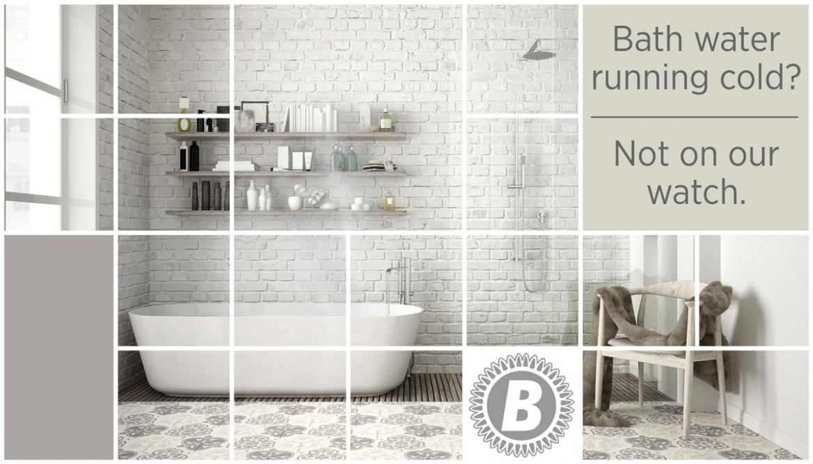 Geometric square mosaic graphic effect with copy space for text, presentation template, classic bathroom, concept interior design
