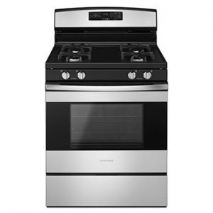 Amana 30-Inch Gas Range with Self Clean Option AGR6603SFS