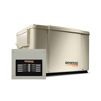 Generac 7.5 kW Power Pack with 50 AMP Transfer Switch