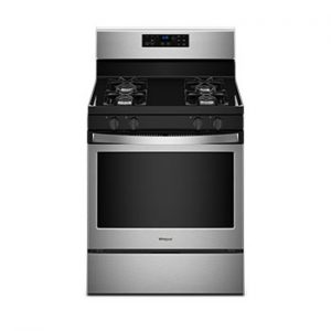 Whirlpool Freestanding Gas Range With Adjustable Self-Cleaning