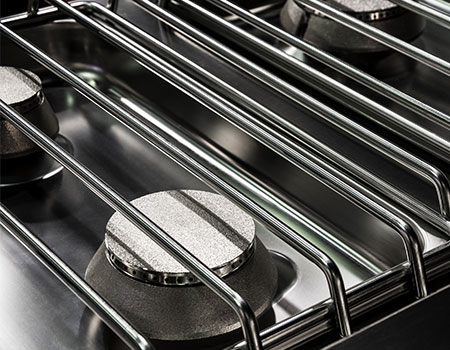 Close Up of Grill Grates