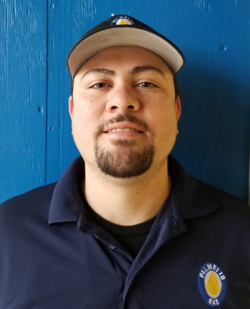 Nate Vargas Palmetto Gas, A Blossman Company, Employee Headshot