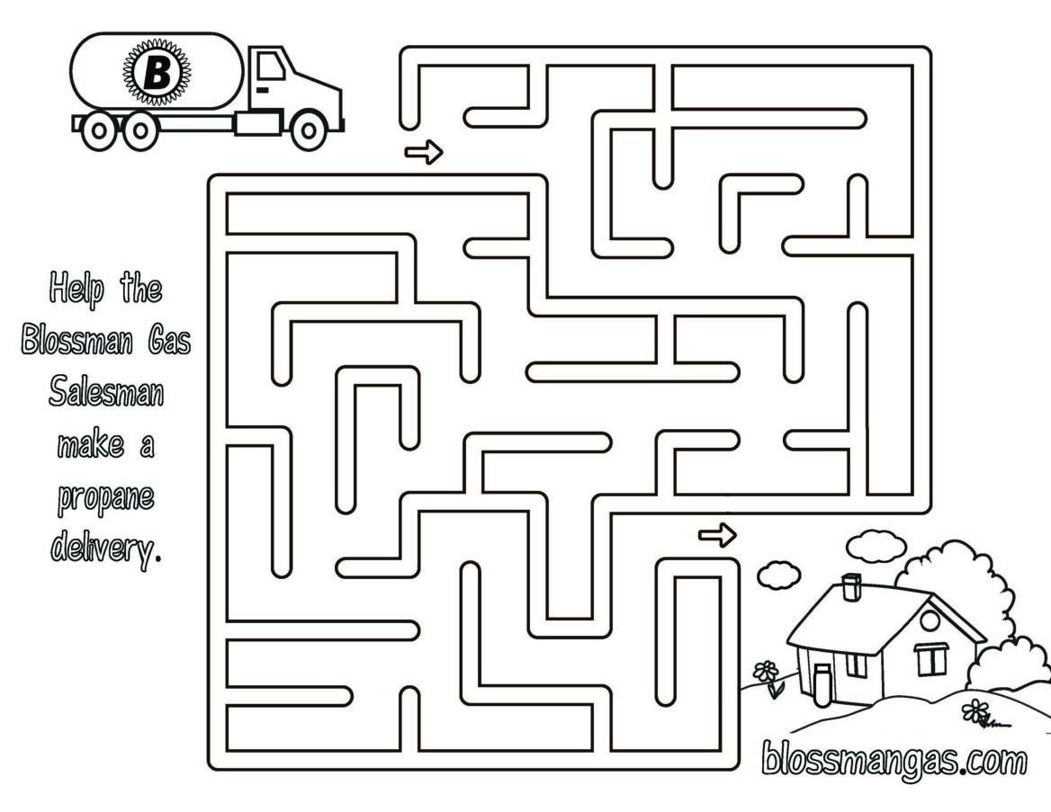 Blossman Gas Delivery Maze