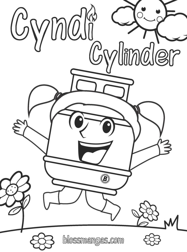 Color with Cyndi Cylinder