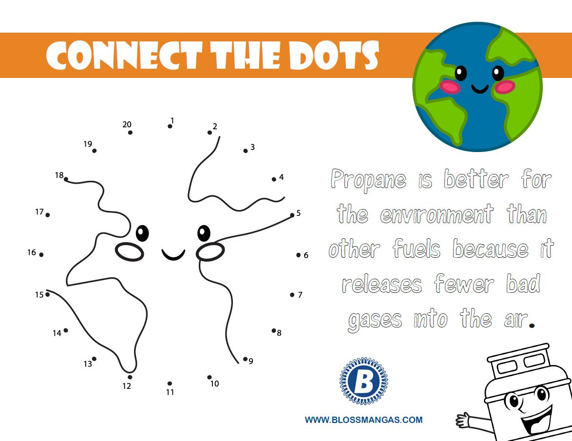 Earth Day Connect the Dots Image