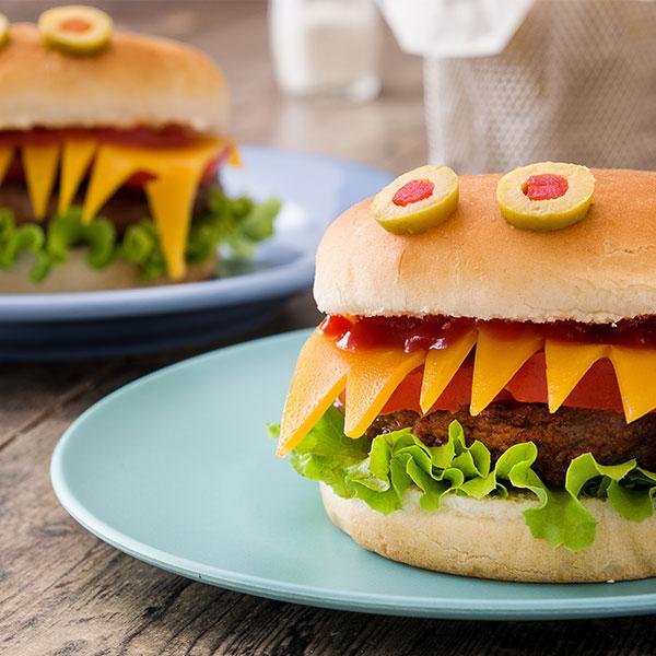 Monster Burgers Recipe