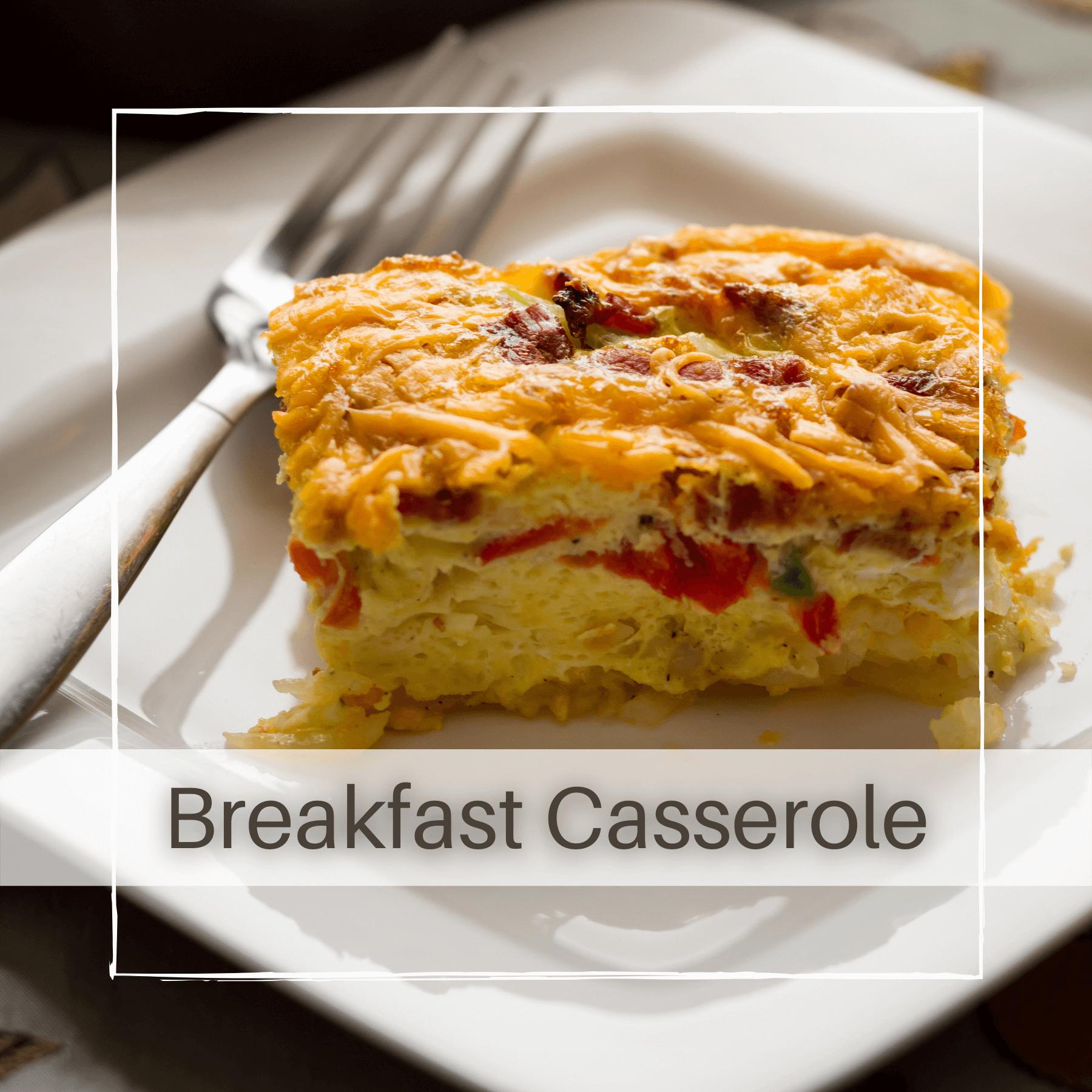 Make Ahead Hash Brown Breakfast Casserole
