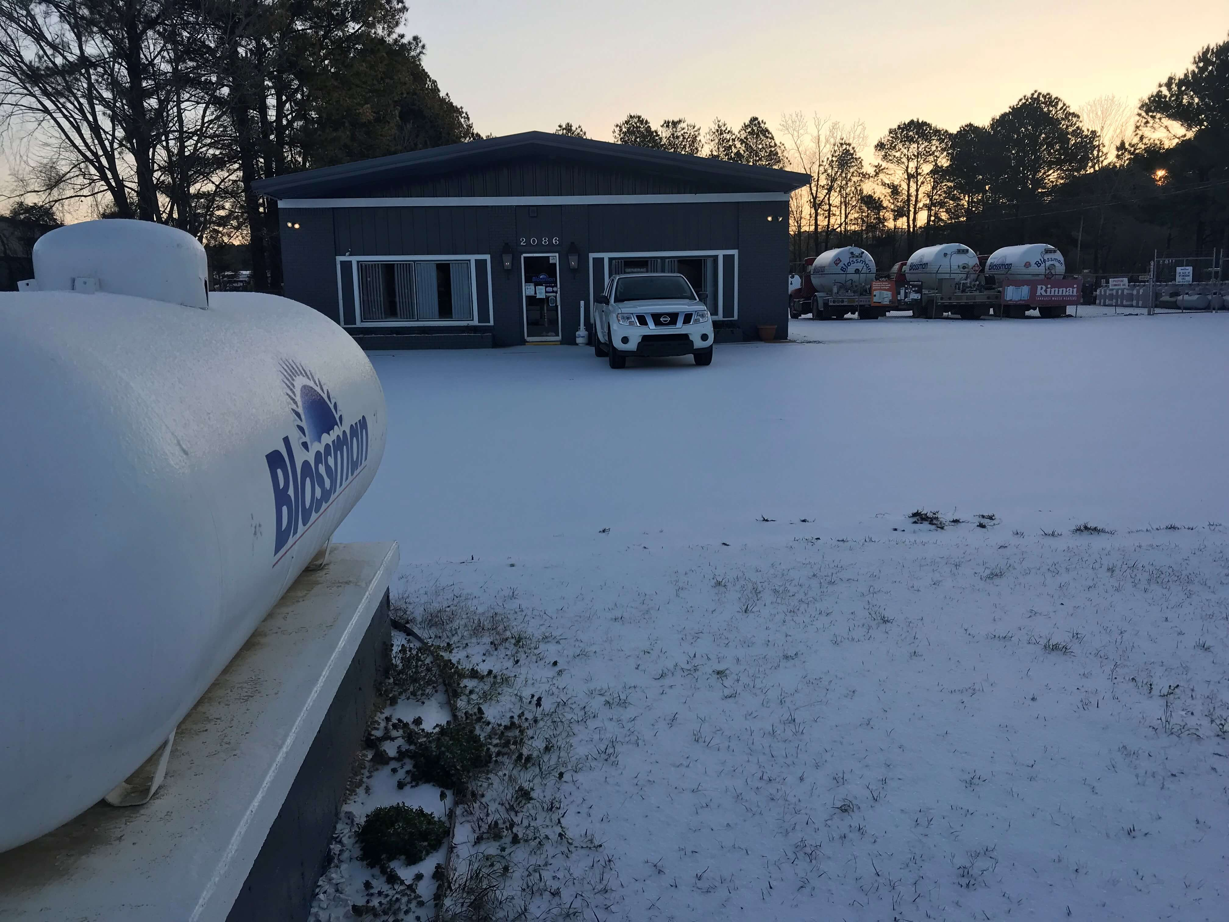 Jackson Mississippi Snow