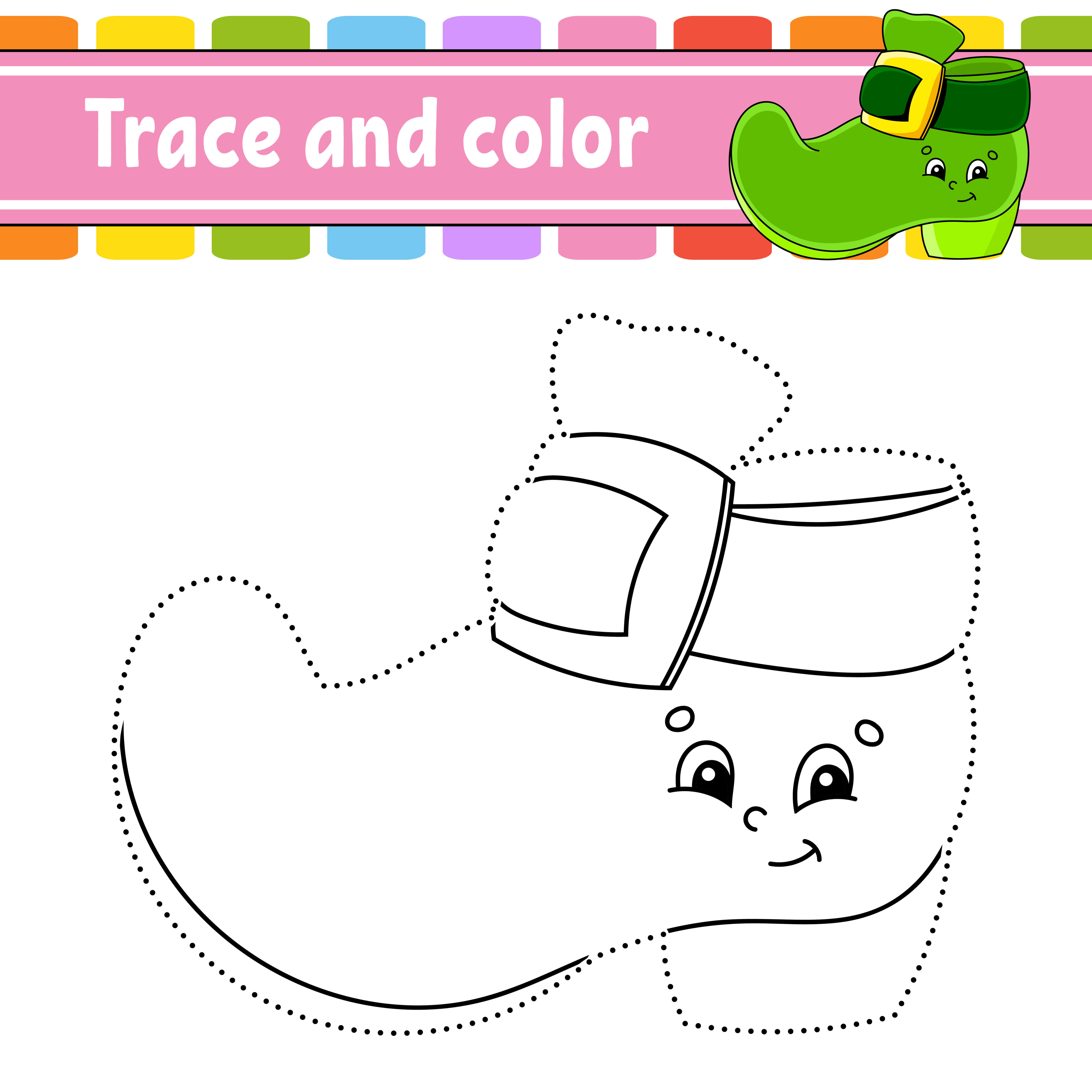 St. Patricks Day Trace and Color