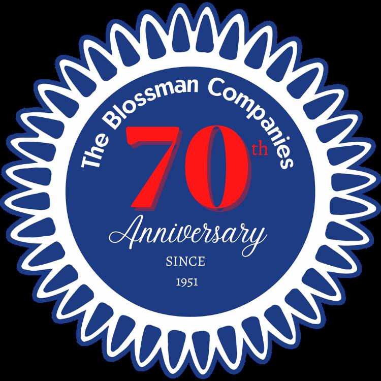Blossman's 70th Anniversary